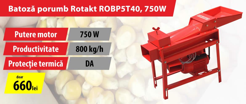 Batoza de porumb ROTAKT ROBP5T40, 750W